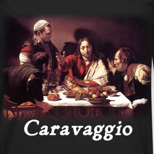 Caravaggio – Supper with Emmaus - Men's Premium Long Sleeve T-Shirt