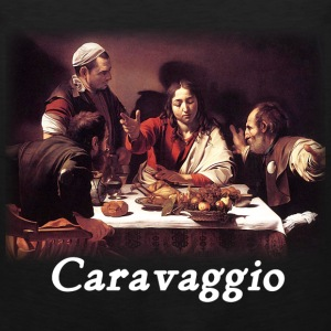 Caravaggio – Supper with Emmaus - Men's Premium Tank