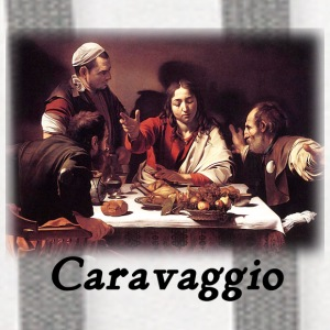 Caravaggio – Supper with Emmaus - Contrast Hoodie