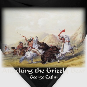 Catlin - Attacking the Grizzly Bear - Bandana