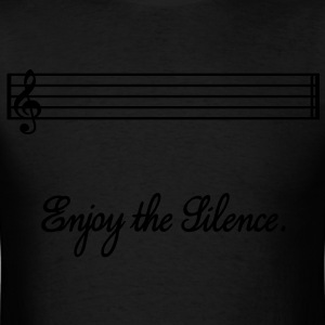 enjoy the silence Hoodies - Men's T-Shirt