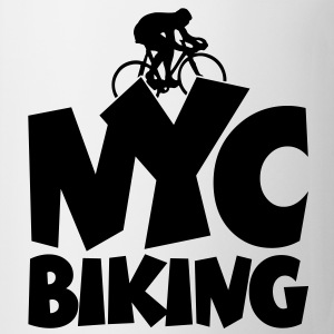 NYC Biking T-Shirt - Coffee/Tea Mug