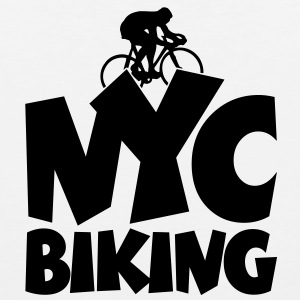NYC Biking T-Shirt - Men's Premium Tank