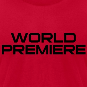 world_premiere Long Sleeve Shirts - Men's T-Shirt by American Apparel