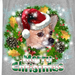 Merry Christmas Chihuahua Sweatshirts - Toddler Premium T-Shirt