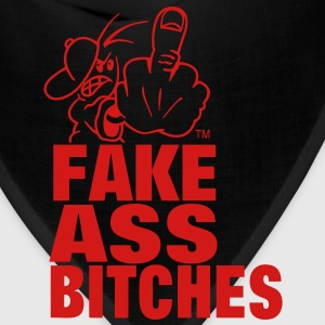 FUCK YOU FAKE ASS BITCHES T-Shirts - Bandana