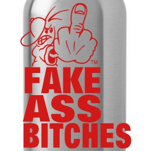 FUCK YOU FAKE ASS BITCHES T-Shirts - Water Bottle