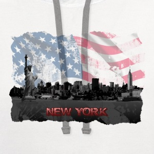 New York T shirt - Contrast Hoodie