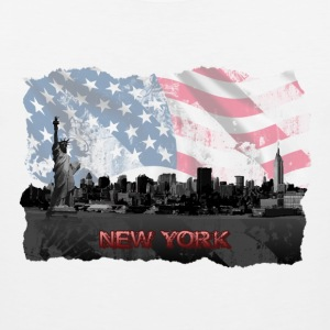 New York T shirt - Men's Premium Tank
