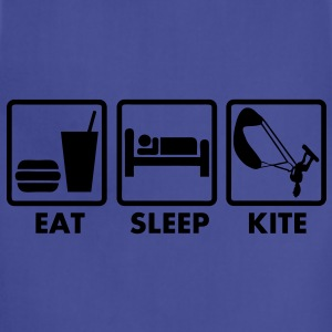 T_shirt kiteboarding eat sleep kite - Adjustable Apron