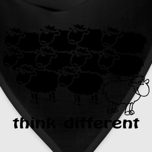 Think different the happy sheep - Bandana