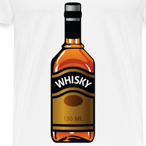 Whisky Bottle (dd)++2012 Hoodies - Men's Premium T-Shirt