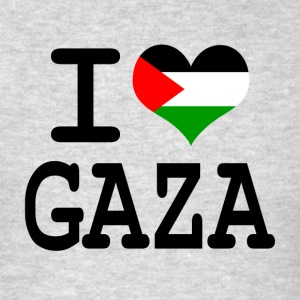 I love Gaza Hoodies - Men's T-Shirt