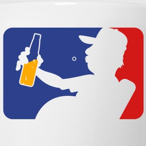 Man With Beer Bottle (3c)++2012 T-shirts Enfant - Tasse
