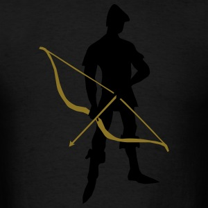 Archer Recurve Bow by patjila2 Caps - Men's T-Shirt
