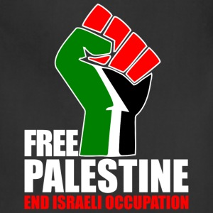 Free Palestine end Israeli Occupation T-Shirts - Adjustable Apron
