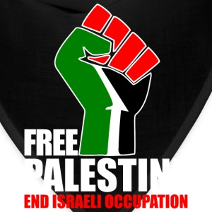 Free Palestine end Israeli Occupation T-Shirts - Bandana