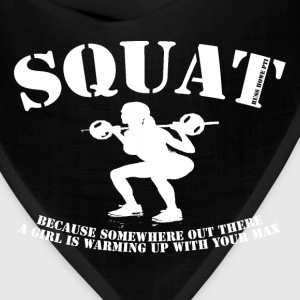 Squat (white) T-Shirts - Bandana