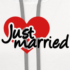 Just married T-Shirts - Contrast Hoodie