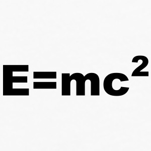 E = mc 2 Accessories - Men's Premium Long Sleeve T-Shirt