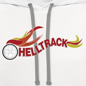 HellTrack Shirt from the Movie Rad - Contrast Hoodie