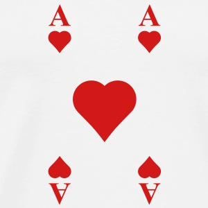 ace of hearts Other - Men's Premium T-Shirt