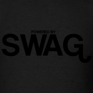 powered_by_swag Hoodies - Men's T-Shirt