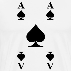 Ace of Spades Hoodies - Men's Premium T-Shirt