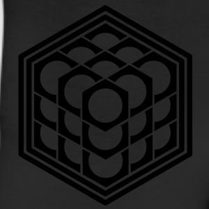 3D Cube - crop circle - Metatrons Cube - Hexagon / Tanks - Leggings