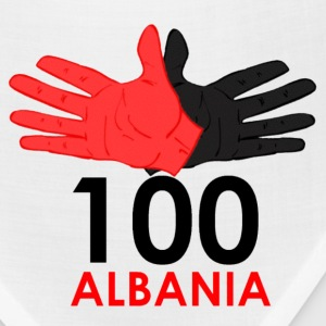 100 Years Albania Hoodies - Bandana