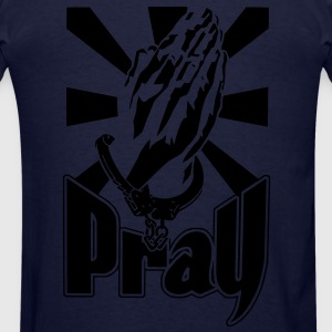 pray and pray - Men's T-Shirt