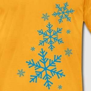 Wintertime - Men's T-Shirt by American Apparel