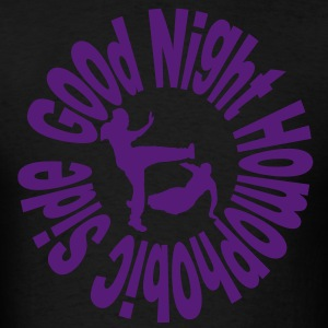 Good Night Homophobic Side Hoodies - Men's T-Shirt