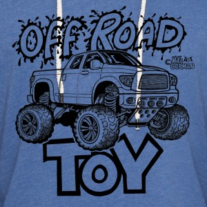 Toyota Tundra Off Road 4x4 Pickup Truck T-Shirts - Unisex Lightweight Terry Hoodie