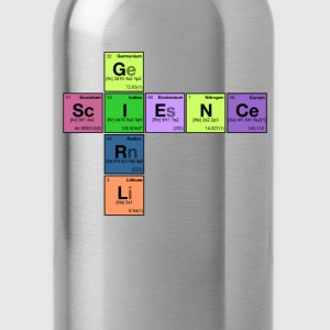 SCIENCE GIRL! - Periodic Elements Scramble - Water Bottle