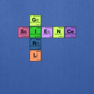 SCIENCE GIRL! - Periodic Elements Scramble - Tote Bag