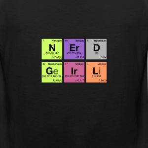 NERD GIRL! - Periodic Elements Scramble - Men's Premium Tank