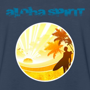 Aloha Spirit Hoodies - Men's Premium Long Sleeve T-Shirt