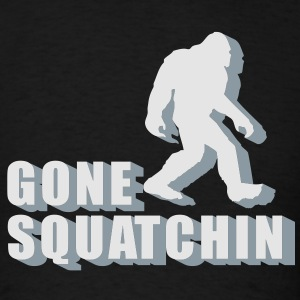 gone squatchin Hoodies - Men's T-Shirt