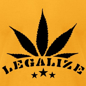 legalize marihuana (1c) Bags  - Men's T-Shirt by American Apparel