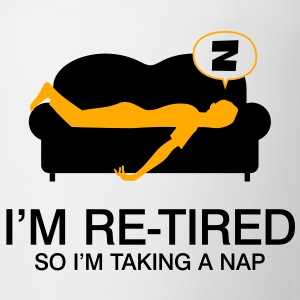 Retired Taking Nap 4 (2c)++2012 Polo Shirts - Coffee/Tea Mug
