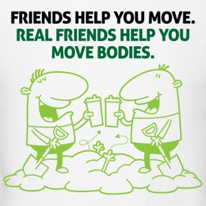 Real Friends Help 2 (dd)++2012 Sweatshirts - T-shirt pour hommes
