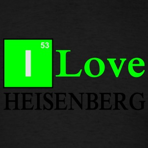 I love Heisenberg Long Sleeve Shirts - Men's T-Shirt