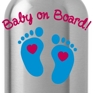 Baby on Board T-Shirts - Water Bottle