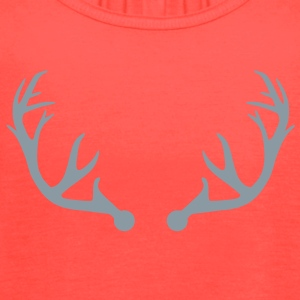 Deer antlers T-Shirts - Women's Flowy Tank Top by Bella