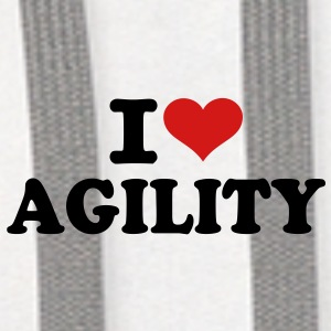 I love Agility Accessories - Contrast Hoodie