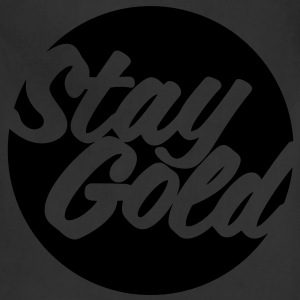 Stay Gold (Vector) Women's T-Shirts - Adjustable Apron