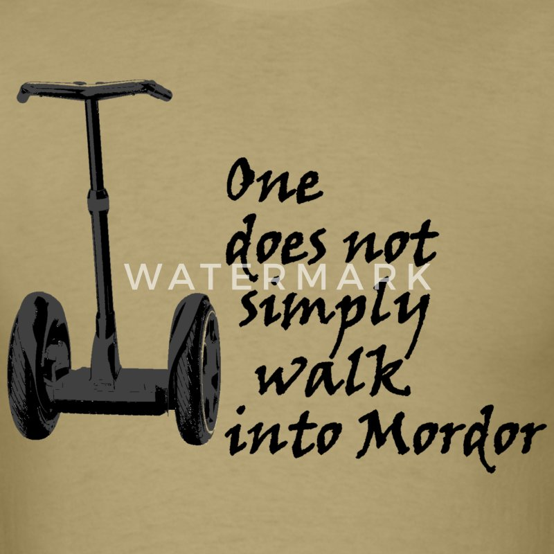 Segway into Mordor - Men's T-Shirt