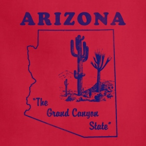 Arizona, The Grand Canyon State women's vintage T - Adjustable Apron