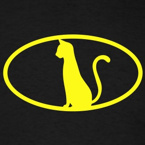 Cat logo Long Sleeve Shirts - Men's T-Shirt